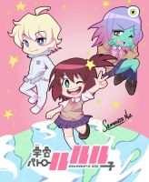 Space Patrol Luluco by keitenstudio