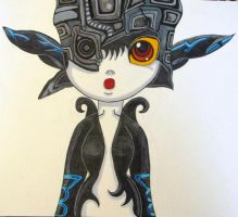 Midna from Twilight Princess (Surprised Look) by MasterMcCraig1982
