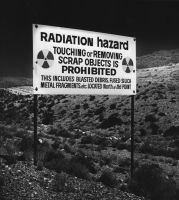Nevada Radioactivity signs by ShitAllOverHumanity