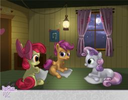 CMC - Sleep Over at the Club House by FurChan
