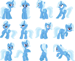 Trixie Vectors Set 6 by Jeatz-Axl
