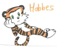 Calvin and Hobbes: our favorite tiger by cmara