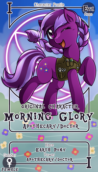 [#3 Prize Contest] Morning Glory by vavacung