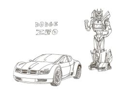 Dodge Zeo Transformer by Laserbot