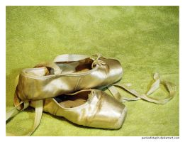 Old Ballet Shoes 2 by punksafetypin