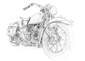 WIP - 1939 Indian Sport Scout by andrephmcr