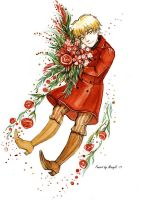 APH Red flowers by MaryIL