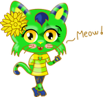 Art Trade with Rebbecathejolteon! :D by Milly-The-Unicorn
