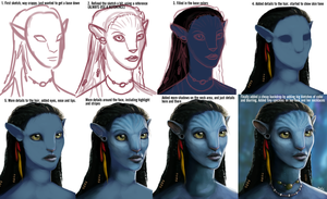 Neytiri - Process by sugarpoultry