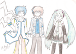 AzureMarcus and the Vocaloids by AzureMarcus