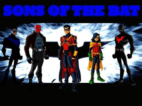 Sons of The Bat 2 (Animated Version) by tRUjusTICE001