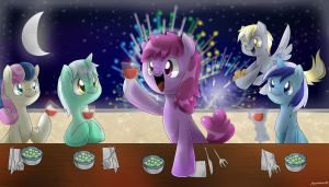 Welcome 2013 by PegaSisters82
