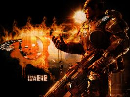 Gears of War 2 by chillseeker