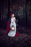 Little red riding hood stock 1 by HigherSeeking
