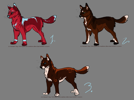 canine adoptables ~OPEN~ by snowpups123