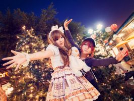 FruitStickers Maid Cafe: Flying in Little Tokyo by SNTP