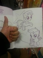 ScootaBelle @ Barnes and Noble!! by PhantomShadow051