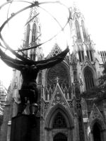 St Patrick's Cathedral by tiggir02