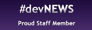 devNEWS Staff Badge by TimberClipse