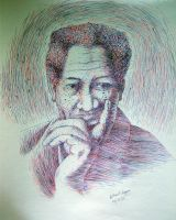 morgan freeman by gilbert86II