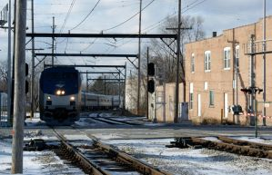 Amtrak on the South Shore East by JamesT4