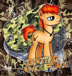 Dogtag Camouflage by Vocalmaker