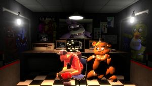 Five Nights At Freddy's V2 by nedrow4