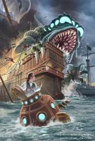 World War Cthulhu: The Turtle by gjsx51