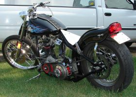Harley-Davidson Motorcycle Hog by FantasyStock