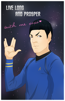 Be Spock's Valentine? by darthfilart