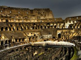Interior of colosseum by edwarddd89