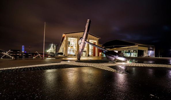 Anchor in Karlskrona by qwstarplayer