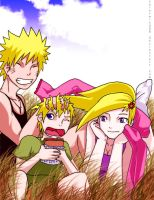 NaruIno Family Request by solarwind06