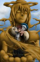 Gaara-A mothers love 2012 by Art-Of-Nathan-Wright