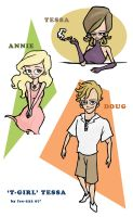 Tess, Doug and Annie by Ice-222