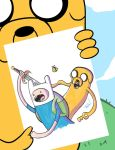 hey finn looks this drawing by TraiN8