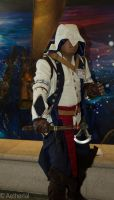 Connor Kenway by Aether-Shadow