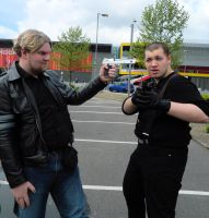 Leon and Jake by MJ-Cosplay