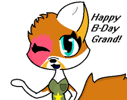 Happy B-Day Grand! by InvaderSony12345