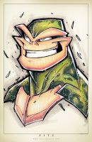 Battletoads Suave by RobDuenas