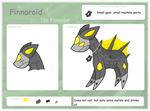 Finnaroid Refrence Sheet by Dianamond