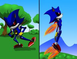 COM: Metal Sonic by Crazybandit1