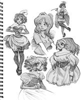 Sketchbook stuff by hanime87