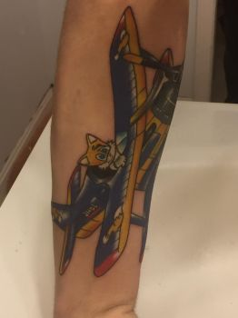 Tails Tattoo (Tornado 2) by Fucciflakes