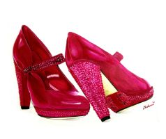 Red Slippers by Chichanan