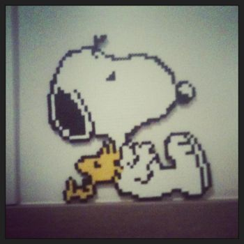 Snoopy and Woodstock by correal87