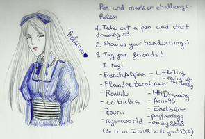 Pen and Marker Challenge: Belarus by Yukow