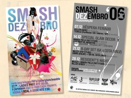 SMASH DECEMBER FLYER by absintho
