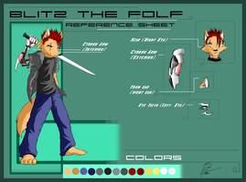 Blitz the Folf - Ref Sheet by ChaserTech