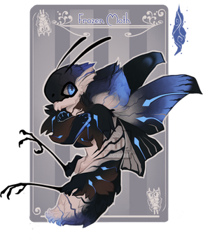 Day 11: Frozen Moth [NN Advent] by Thalliumfire